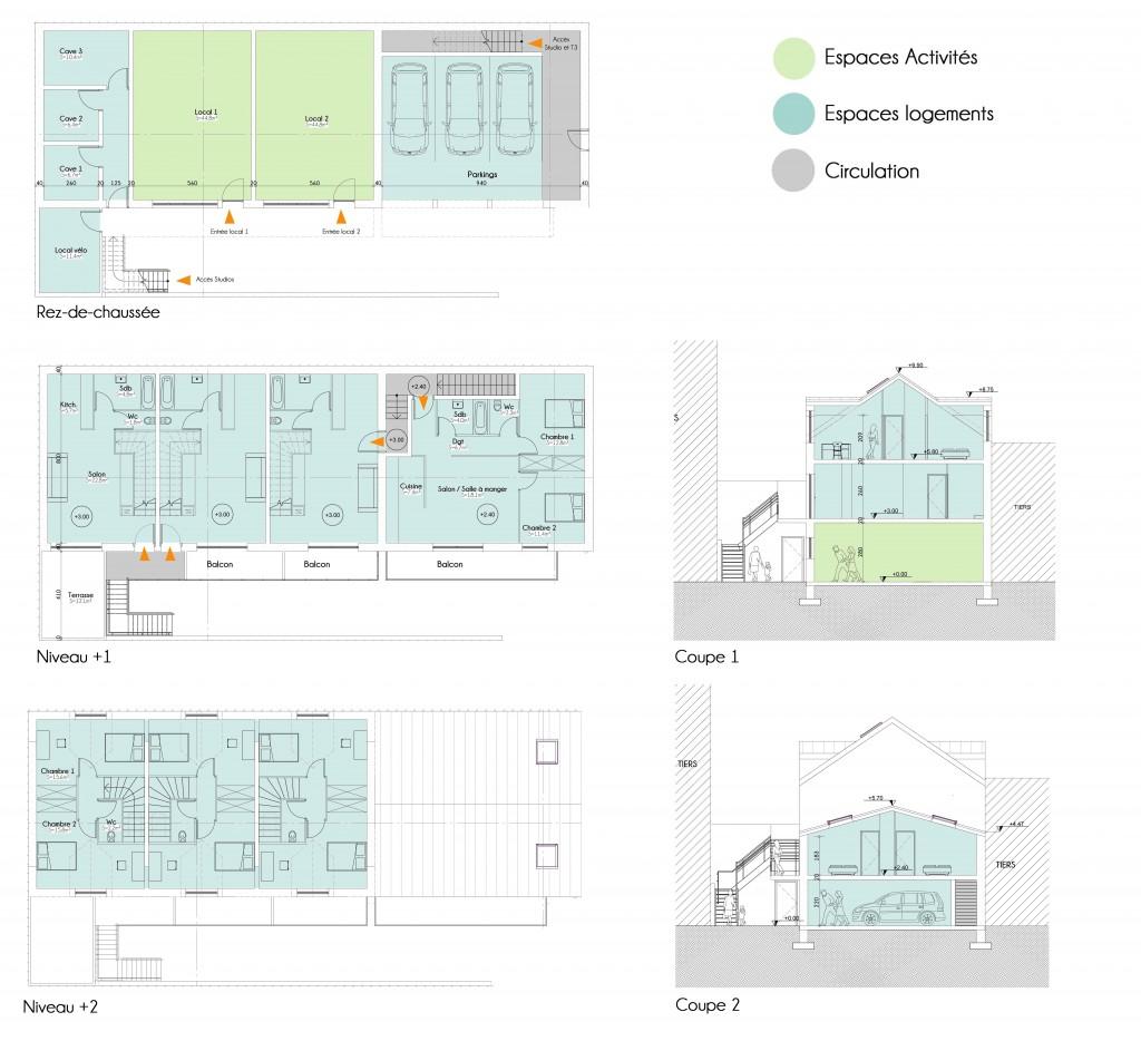 plans et facades